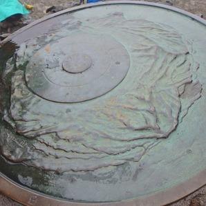 山頂の展望表示盤