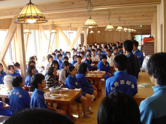 学校登山09 西部中学校 : 白馬日...