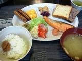 元湯山荘さんの朝食