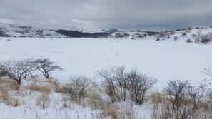 八島ヶ原湿原から車山方向