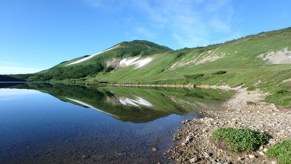 朝の白馬大池