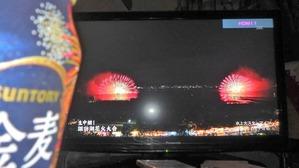 諏訪湖花火大会の生放送