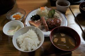 燕山荘さんの夕食