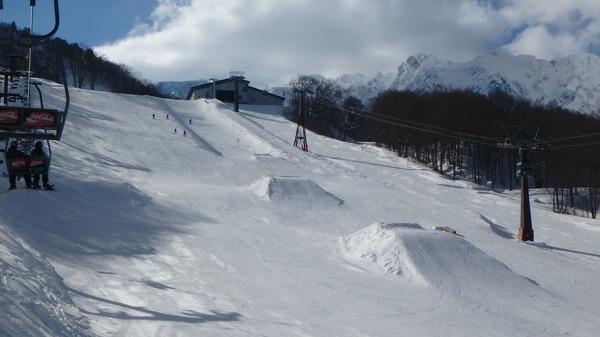 Hakuba47スキー場のスノーパーク