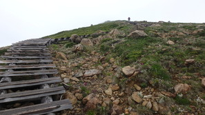 高天原の階段を登る