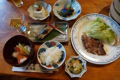 徳澤園さんの夕食はおしゃれでおいしい♪