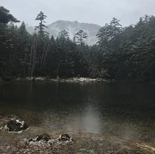 今日のみどり池と天狗岳