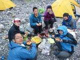 i-nac 山岳プロ学科のメンバー(2年生)