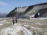 白馬47スキー場に帰還