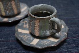 しらびそ小屋のオリジナルコーヒーカップ♪