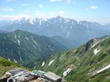 剱岳と立山連峰