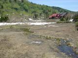 水ばしょう湿原と旧栂池ヒュッテ