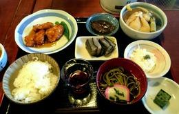 朝日小屋さんの名物☆夕食