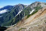 白馬岳方面の展望もバッチリ