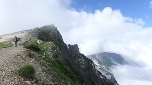 白馬岳の山頂