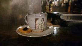 しらびそ小屋さんのコーヒーはおやつ付き♪