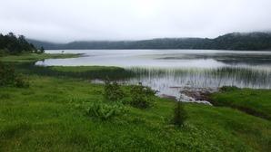 幻想的な尾瀬沼