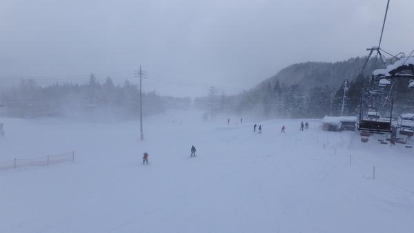 五竜スキー場のいいもりゲレンデ