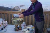 率先して鍋を作ってくれたkiyooさん