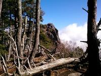 「にゅう」(2,351m)山頂