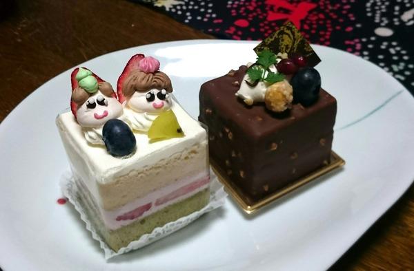 パティスリーRIREのひな祭りケーキ♪