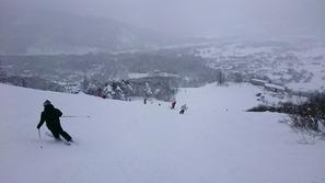 八方尾根スキー場のリーゼンスラロームコース
