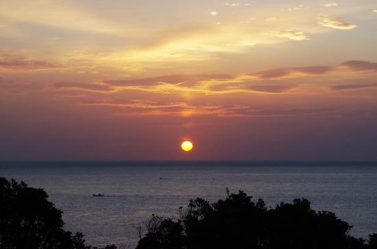 屋久島の夜明け