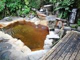 雨飾温泉の野天風呂  「都忘れの湯」