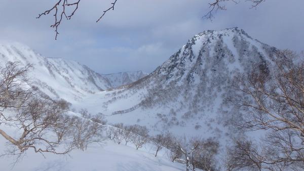 三田原山からみた妙高山