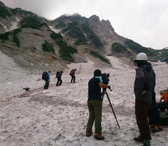 にっぽん百名山の撮影風景