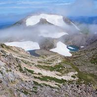 大汝峰とお池巡りの登山道
