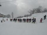 山岳スキー競技