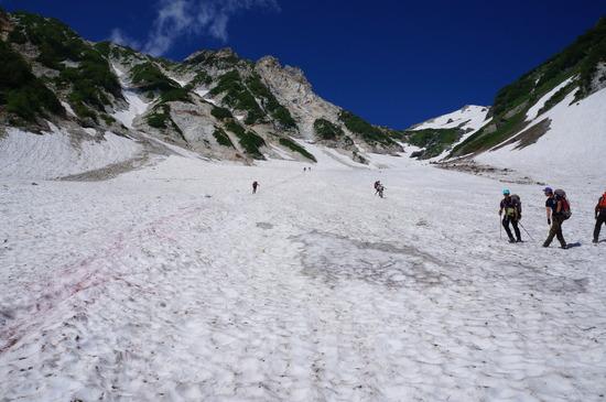 白馬大雪渓'15年7月15日