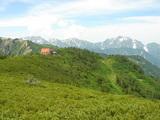 種池山荘と剱岳・立山連峰