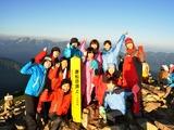 唐松岳山頂〜♪
