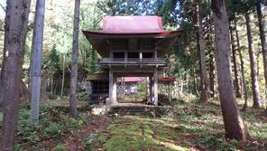 立派な雲台寺の山門
