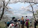 光城山からの下山