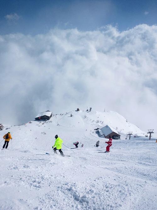 リーゼングラードコースは雲の上