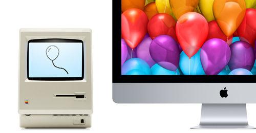 macが30歳になったようですね・・・