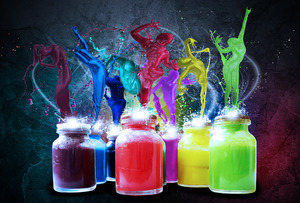 Paint_Dancers_Wallpaper_Pack_by_JurgenDoe