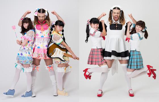 14歳美少女と17歳美少女とヒゲのオッサンのアイドルグループ『LADY BABY』結成wwwww