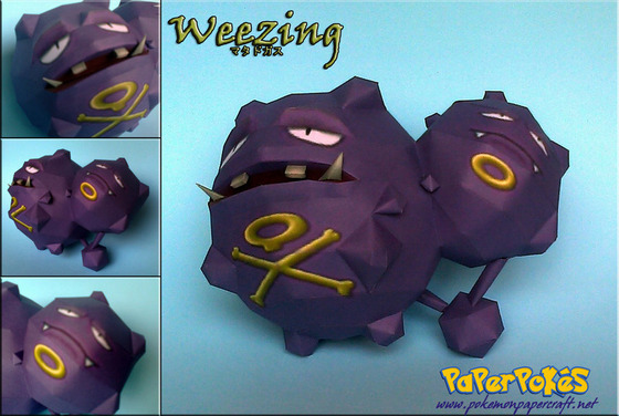 weezing_papercraft_by_xdcosmo-d4q95j0