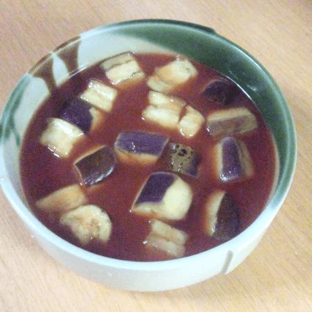20161001_トマトジュースとなすのスープ