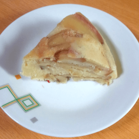 20180405_りんごケーキ