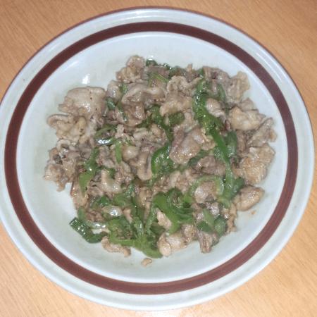 20160528_豚肉とピーマンのマヨ炒め