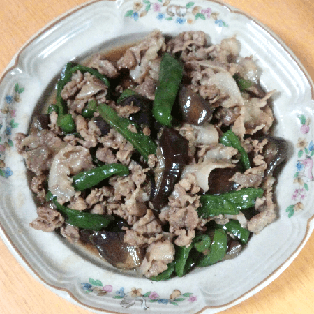 20160806_豚肉と野菜の甘辛炒め
