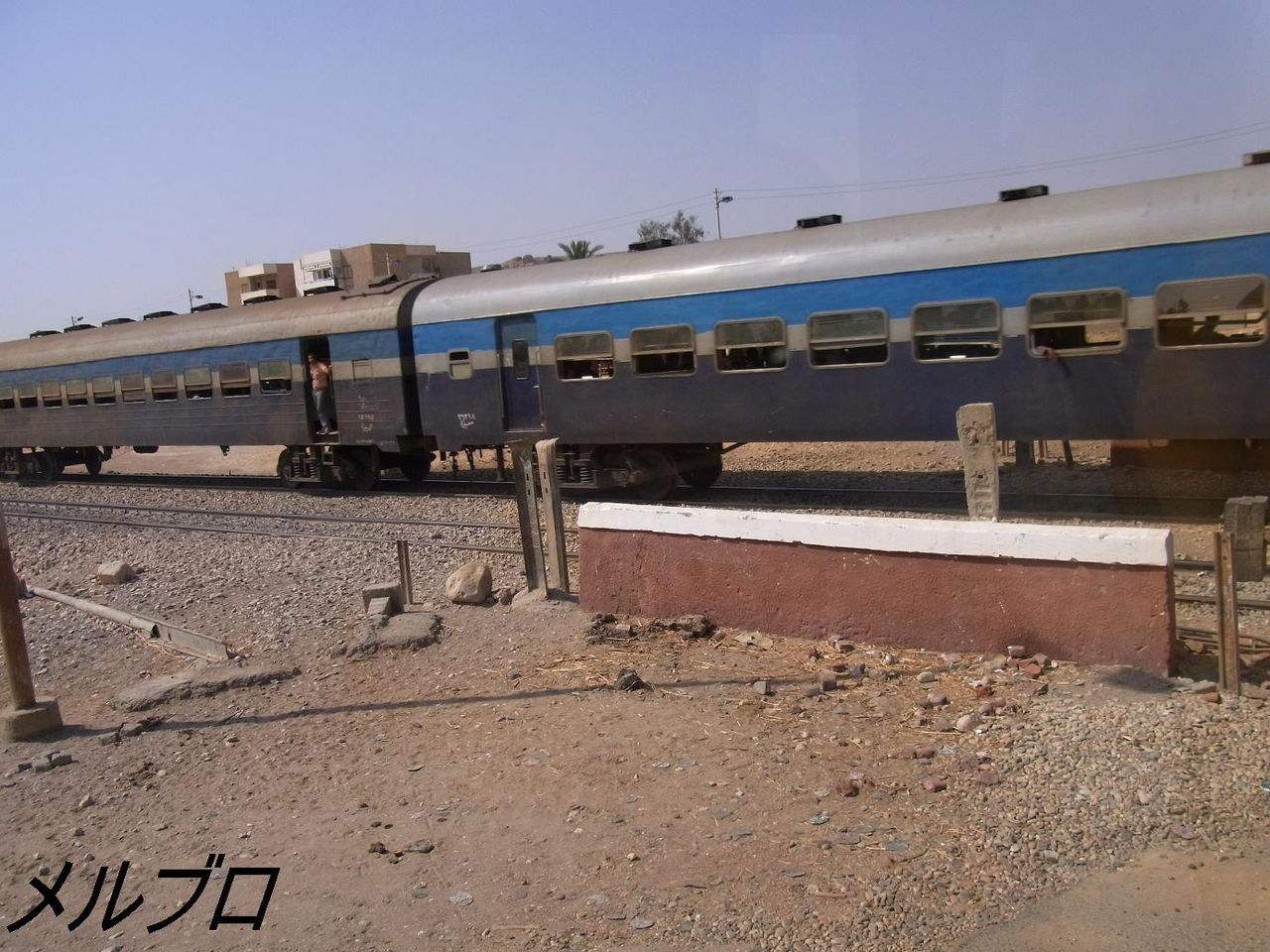 列車の通過待ち
