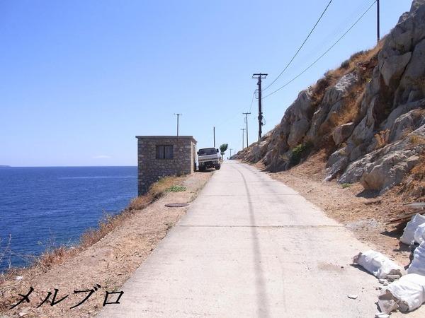 イドラ島のゴミ収集車