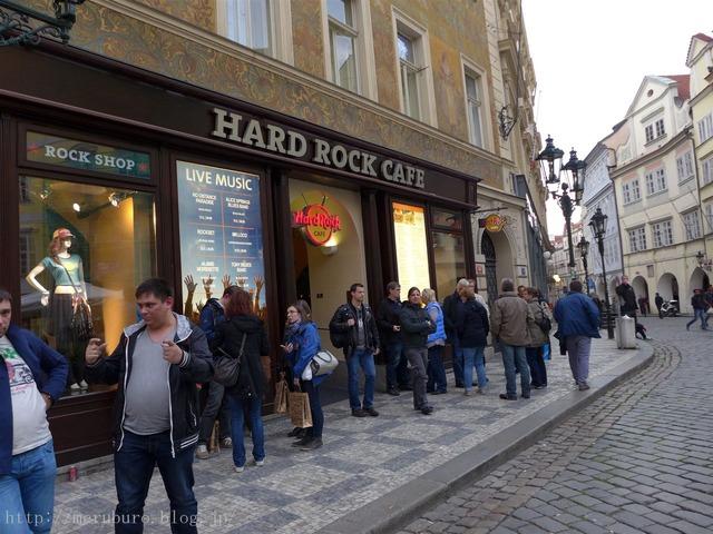 プラハのハードロックカフェ