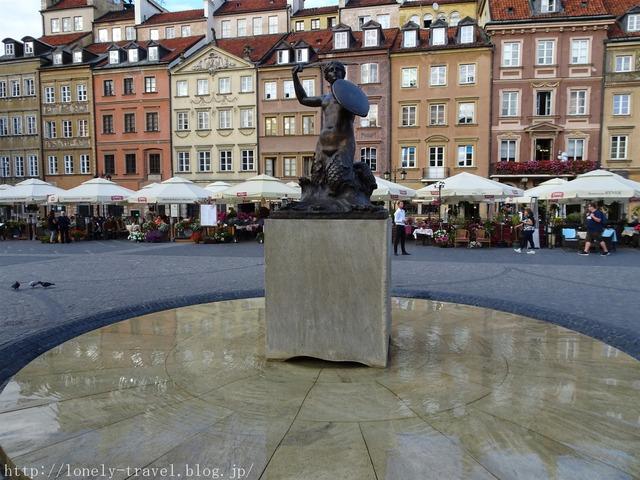 ワルシャワ旧市街 市場広場